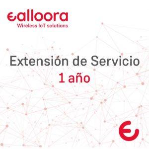 Extensión de servicio